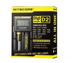 Chargeur Digicharger D2 Nitecore (2 accus)