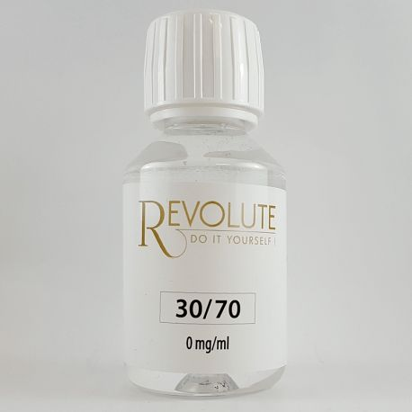 BASE REVOLUTE 30/70 PG/VG DE 115 ML 0 MG