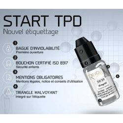 Booster de 10 ml en 20 mg Base 50/50 pour Diy