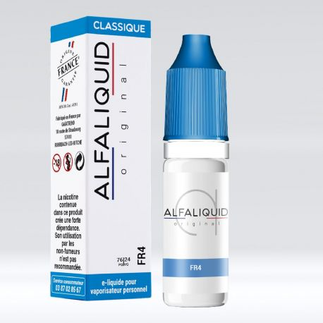 Tabac FR4 10 ML Alfaliquid