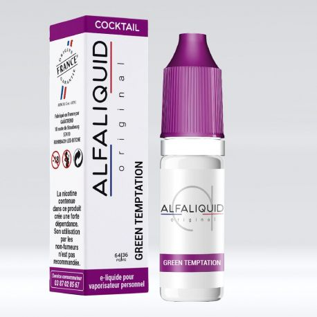 GREEN TEMPTATION 10 ML Alfaliquid