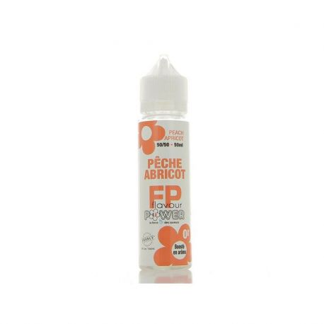 PECHE ABRICOT 50/50 50ML by Flavour power