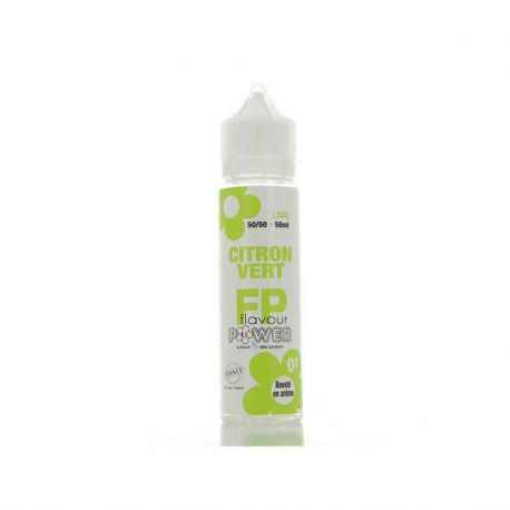Citron vert 50 ml 0mg by Flavour power