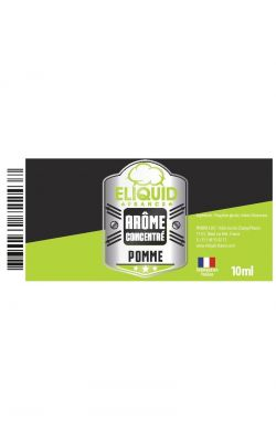 Concentré Pomme 10 ml Eliquid France